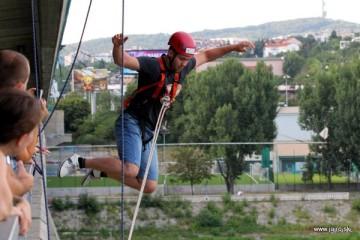 Lafranconi JUMP! – kyvadlový skok z mosta – ukončenie sezóny